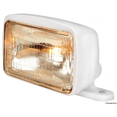 Reflektor sklopný, bílý 12 V, 65 + 45W