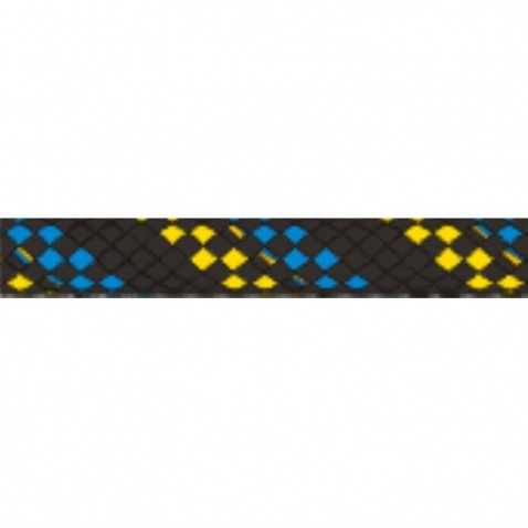 Magic Gold pr.4 mm black-neonyellow-blue