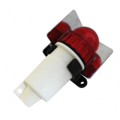 Světlo poziční na baterii – červené (AAA bat)