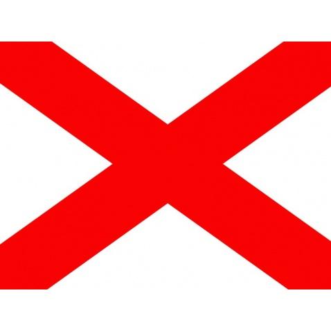 """Vlajka """"V"""" 30x40cm"""