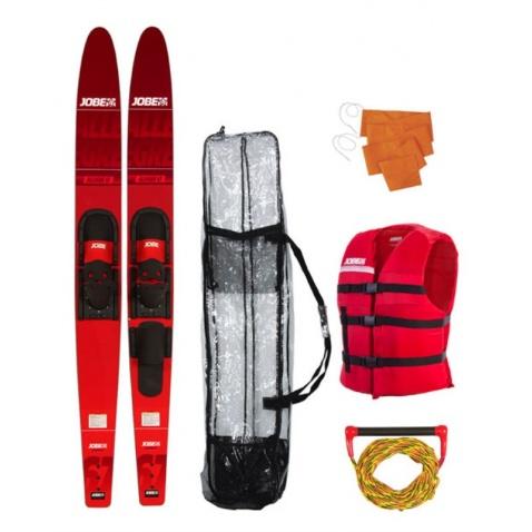 Lyže Allegre Combo red,délka 170cm + příslušenství
