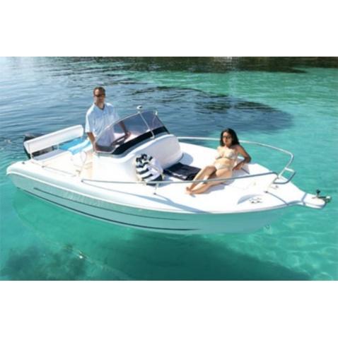 Motorový člun A534 Sun Deck