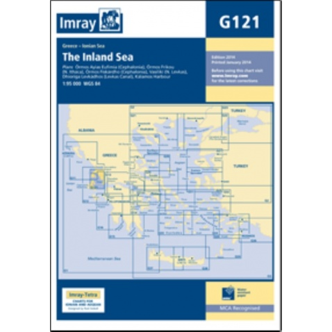Mapa G121 The Inland Sea