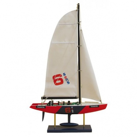 Model lodi - America´s Cup Yacht – TRANSICIEL 34x56cm