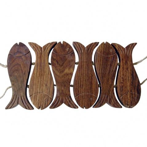 Podložka pod hrnec - rybičky
