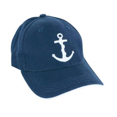 Kšiltovka SC navy, logo kotva