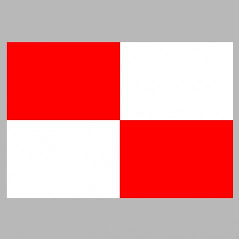 """Vlajka """"U"""" 30x45cm"""