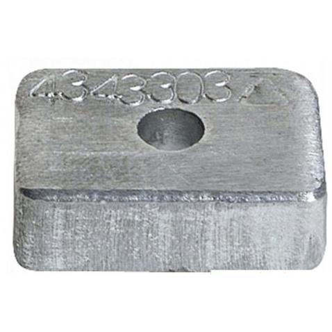 Anoda zinková Mercury 4/9,9HP