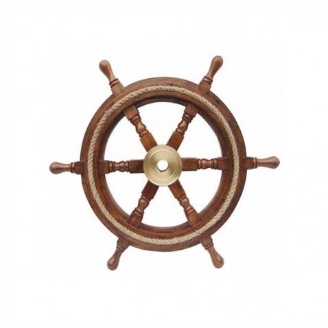 Kormidelní kolo s lanem, prům. 30 cm