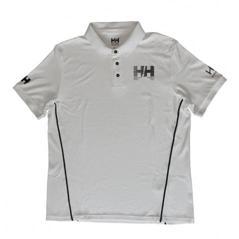 Triko Helly Hansen s lím. HP Racing white
