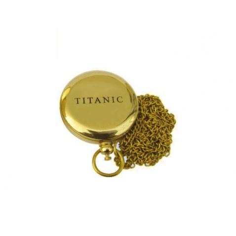 """Kompas na řetízku s nápisem """"Titanic"""""""