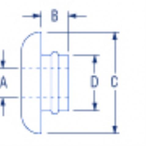 Průvlak lana skrz palubu, prům 4mm – PNP181
