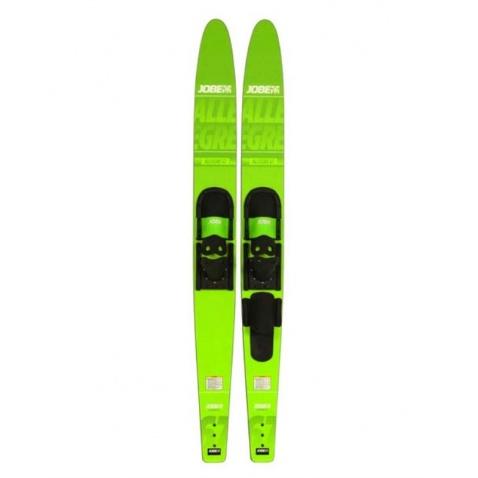 Lyže Allegre Combo lime green,délka 170cm