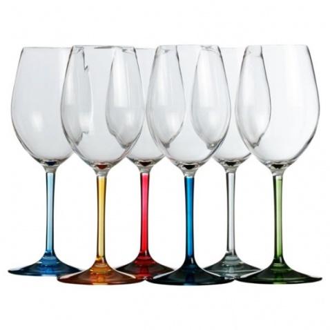 Sklenice na vodu nebo víno PARTY, sada 6ks
