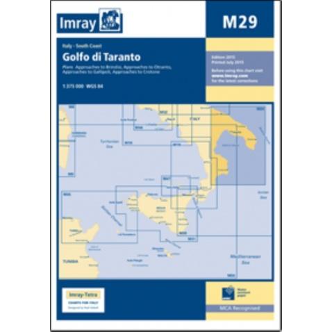 Mapa M29 Golfo di Taranto