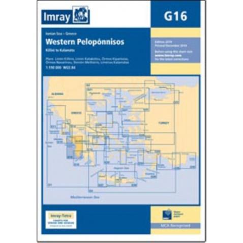 Mapa G16 Western Peloponnisos