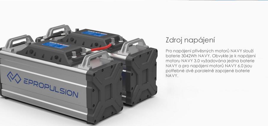 Lodní elektromotor ePropulsion NAVY